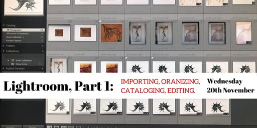 Lightroom, Part I: Importing, Organizing, Cataloging, Editing