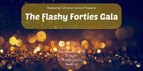 The Flashy Forties Gala tickets