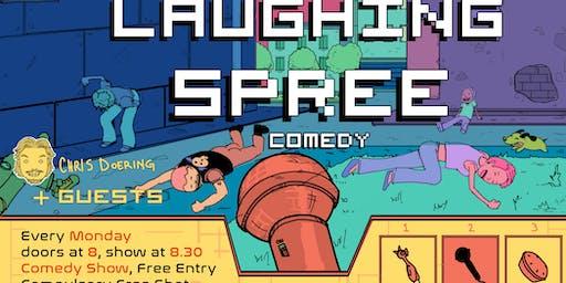 Laughing Spree Comedy - free live English comedy w/ FREE SHOTS!