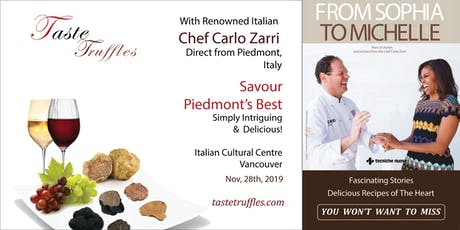 Piedmont Truffle and Hazelnut Dinner tickets
