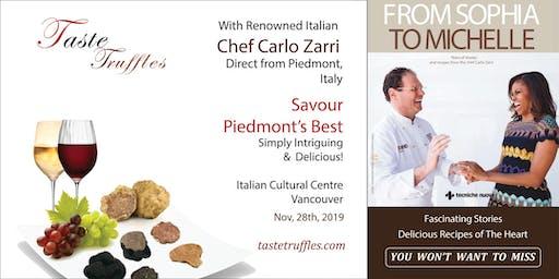 Piedmont Truffle and Hazelnut Dinner