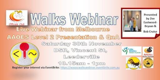 Walks Webinar