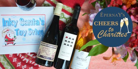 CHEERS TO CHARITIES WINE TASTING benefiting INKY SANTA TOY DRIVE tickets