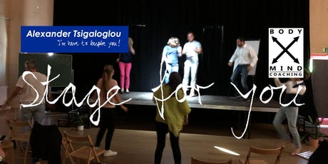 Stage for you - Du darfst dich zeigen Tickets