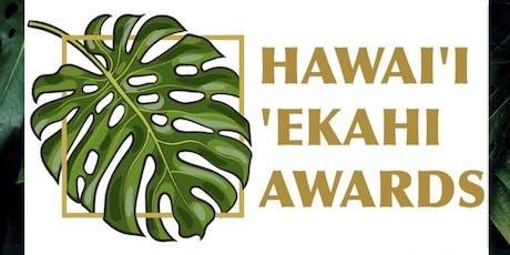 Hawaii 'Ekahi Awards Gala tickets