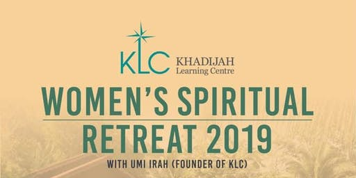 Women Only Spiritual Retreat