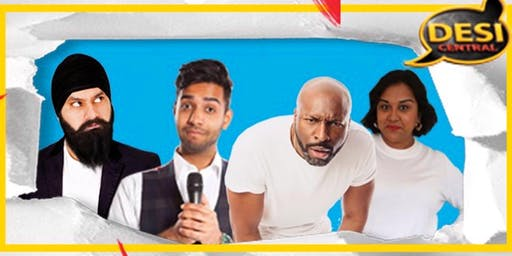 Desi Central Comedy Show : Leeds