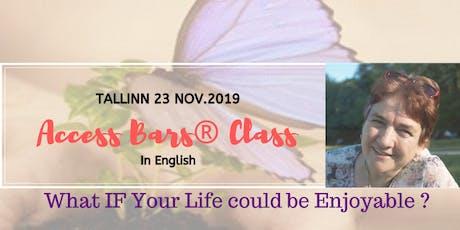 ACCESS BARS ® CLASS IN ENGLISH  in TALLINN tickets
