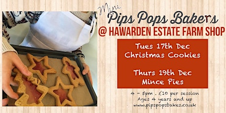 Christmas Cookies with Pips Pops Bakes tickets