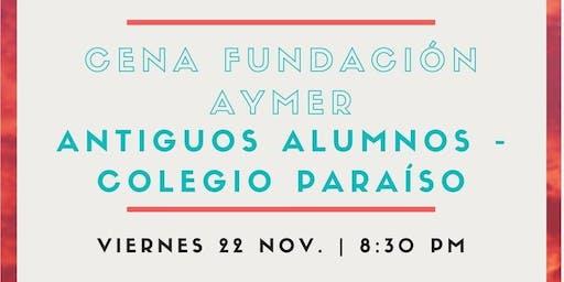 Cena Fundación Aymer Antiguos Alumnos Colegio Paraíso