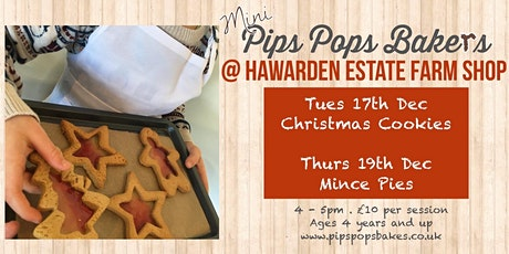 Mince Pies with Pips Pops Bakes tickets