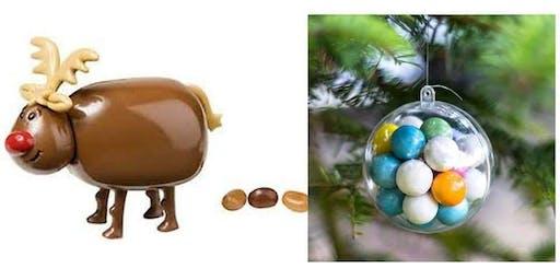 Reindeer Poo Bath Bombs