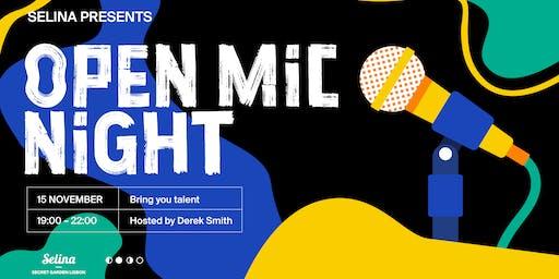 Open Mic Night with Derek Smith