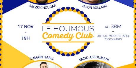 Le Houmous Comedy Club - S01E5 billets