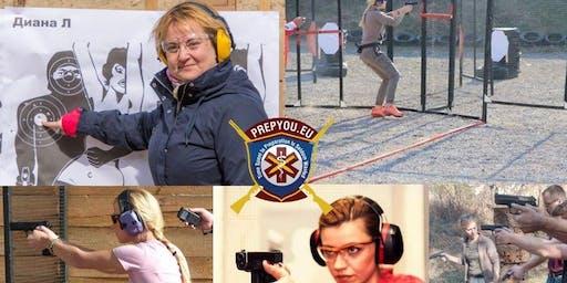 Ladies Only Pistol Course with Irena Tanova