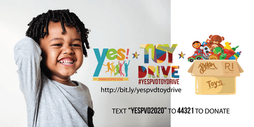 #YESpvd! 2019 Toy Drive | #YESPVDTOYDRIVE
