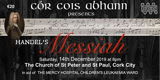 Handel's Messiah (tickets also available at the venue)