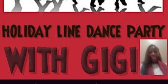 Holiday Line Dancing with GiGi