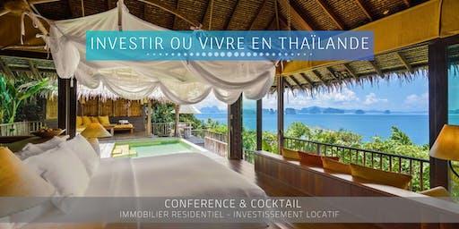 Aix en Provence - Conférence: Immobilier et Vie en Thaïlande