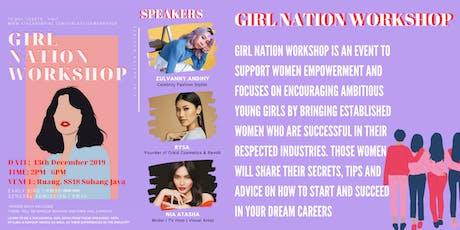GIRL NATION WORKSHOP tickets