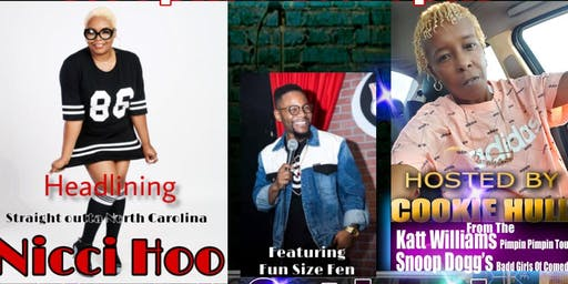 "PRIVATE I JOKERS COMEDY CLUB PRESENTS: HIGHLY REQUESTED ""NICCI HOO"""