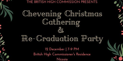 Cyprus Chevening Christmas Gathering and Re-Graduation Party