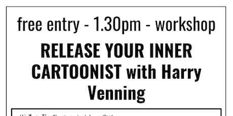 Workshop: Release Your Inner Cartoonist with Harry Venning tickets