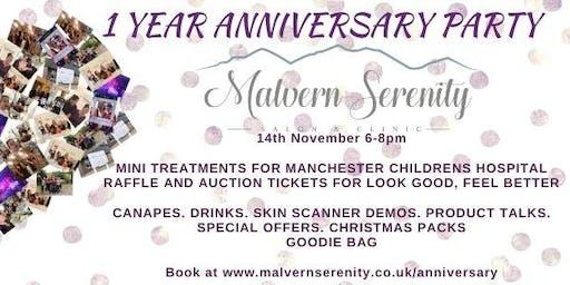 Malvern Serenity 1 Year Anniversary Party