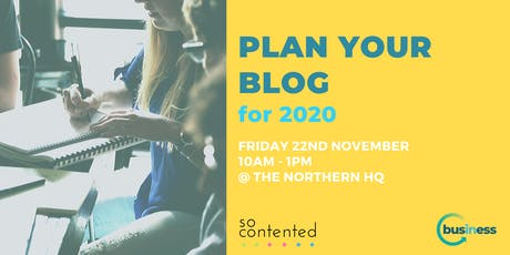 Plan Your Blog tickets