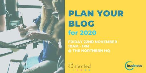 Plan Your Blog