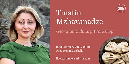 Georgian gastronomy workshop with Tinatin Mzhavanadze