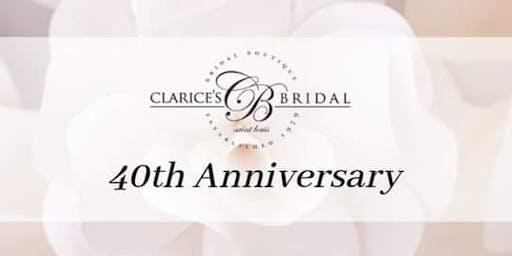 Clarice's Bridal 40th Anniversary Bash!