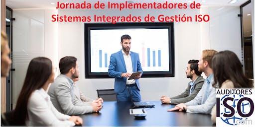 Jornada: Implementador de sistemas de gestión integrado  ISO