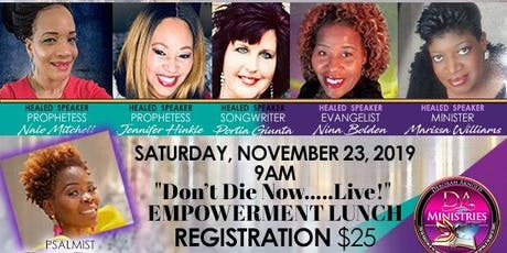 Healed 2 Live Women's Conference tickets