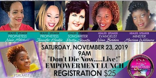 Healed 2 Live Women's Conference