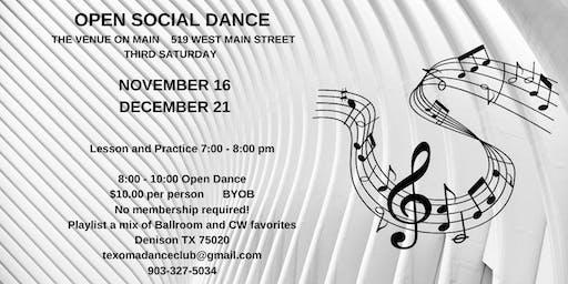 Open Social Dance