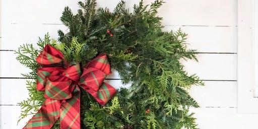 Make A Holiday Wreath