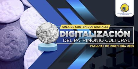 Digitalización del patrimonio cultural entradas