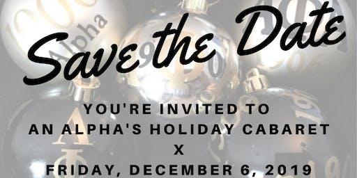 An Alpha's Holiday Cabaret