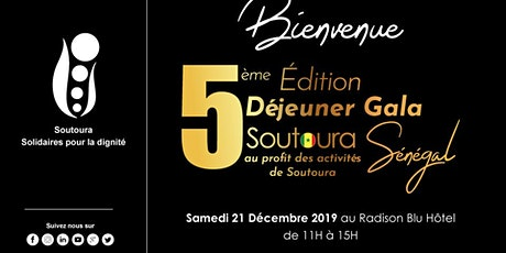 5ème édition Déjeuner Gala Soutoura Dakar tickets