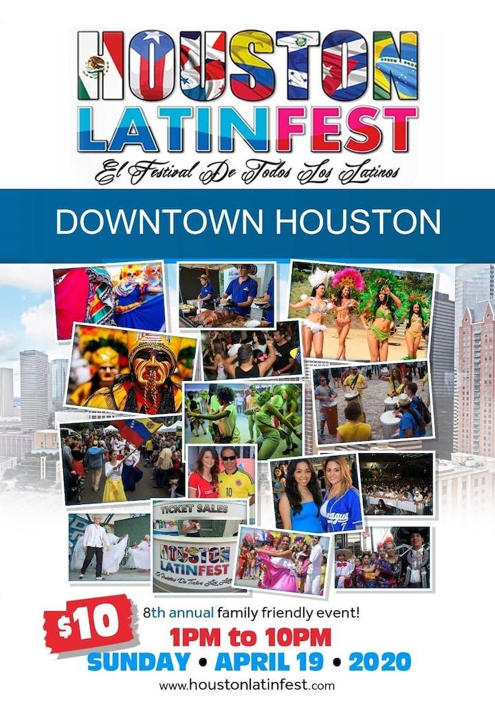 Houston Events April 2020.Houston Latin Fest 2020 Tickets Sun Apr 19 2020 At 1 00
