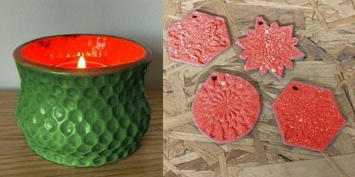The Maker's Guild: Ceramic Christmas Decorations Workshop