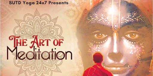 Yoga 24x7: Art of Meditation (Free Meditation/Dinner)