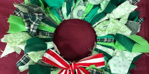 Holiday Rag Wreath