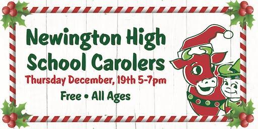 Newington High School Carolers at Stew Leonard's in Newington