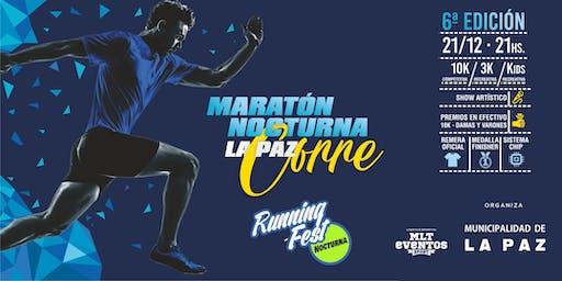 Maraton Nocturna La Paz Corre