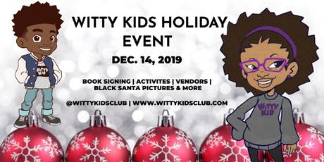Witty Kids Holiday Event & Book Signing tickets