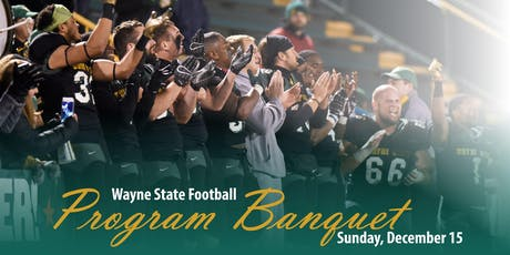 2019 Wayne State Football Banquet tickets