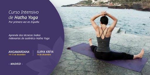 Autentico Hatha Yoga. Angamardana revitaliza tu cuerpo y mente.