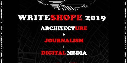 WriteShope + Architecture + Journalism + Digital M